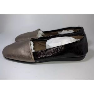 Aerosoles Flats Women's Sz 9.5 Brown Shoes Patent